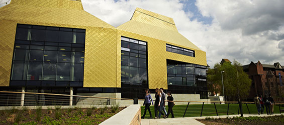 Exterior view of the Hive